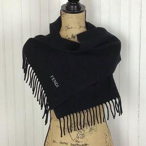 Fendi Vintage Wool Scarf
